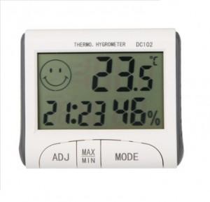 Aparato medidor temperatura y humedad