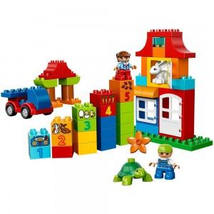 LEGO Duplo Caja divertida Deluxe (10580) algunas piezas
