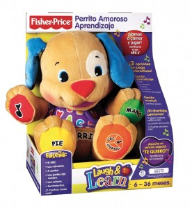 Perrito aprendizaje de Fisher Price