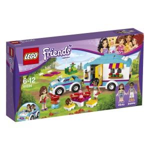 Caja La caravana de verano LEGO Friends
