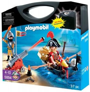 Maletín Piratas Playmobil