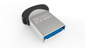 Memoria USB 3.0 de 128 GB SanDisk Ultra Fit
