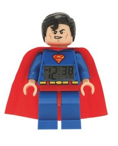 Reloj despertador Lego Superman