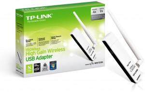 Adaptador USB inalámbrico N TL-WN722N 150 Mbps
