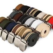 Cinturón de lona varios colores