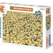 Puzzle Minions Clementoni dificil de 1000 piezas caja
