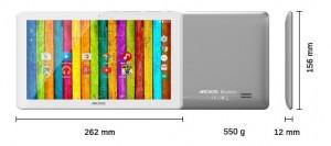 Tablet Archos Neon 101d medidas