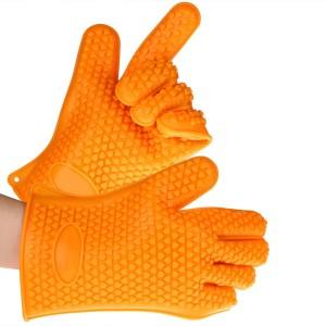 Guantes de silicona Crenova naranja