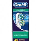 Pack de 3 cabezales de recambio Oral-B Dual Clean EB417