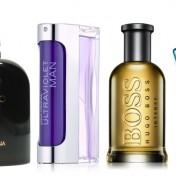 Sección perfumes y fragancias para hombres