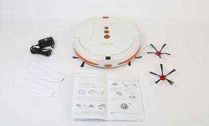 Robot Aspirador Cecotec Conga 2.0 contenido caja