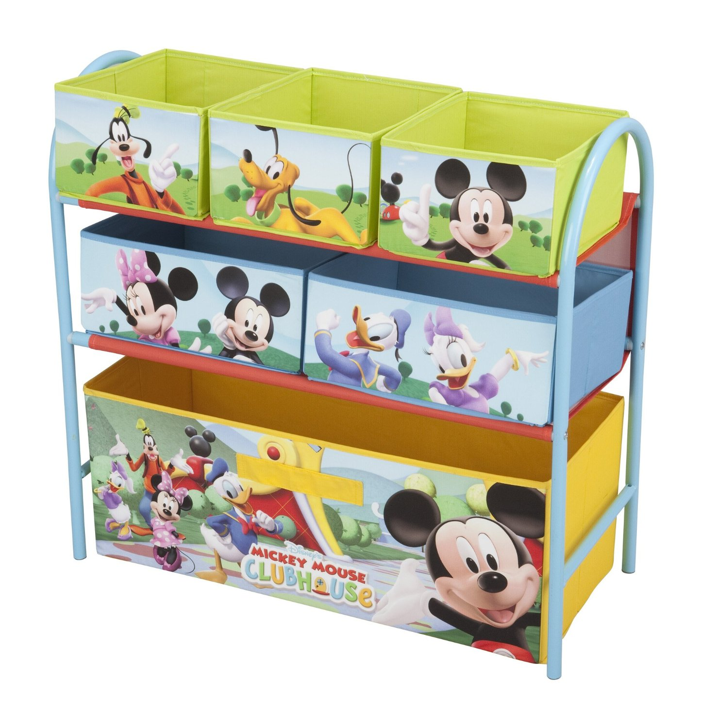 organizador infantil mickey mouse disney princess. Black Bedroom Furniture Sets. Home Design Ideas