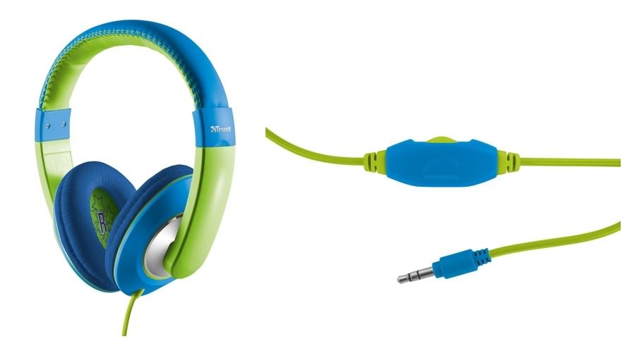 Trust Sonin azul y verde