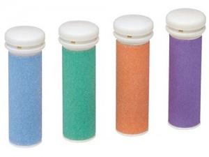 cuatro rodillos de diferentes colores incluidos