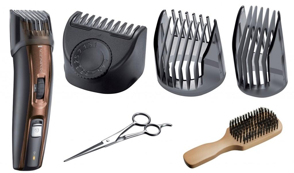 Kit barbero Remington MB4045 pra todo tipo de barbas