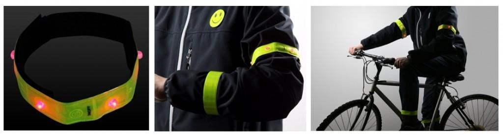 Set de seguridad Ultrasport con leds