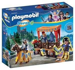 Tribuno Real con Alex Playmobil (6695) Super 4