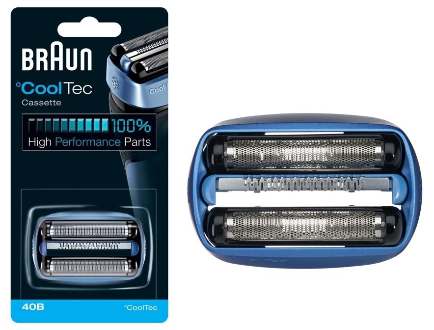 Cabezal de repuesto 40B para afeitadoras Braun CoolTec