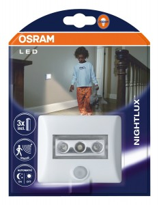 Luz con sensor de movimiento Osram LED Nightlux