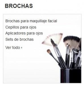 Maquillaje Amazon brochas