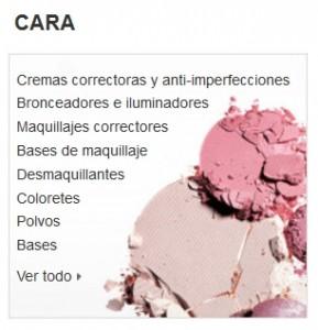 Maquillaje Amazon cara