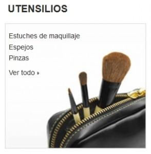 Maquillaje Amazon utensilios