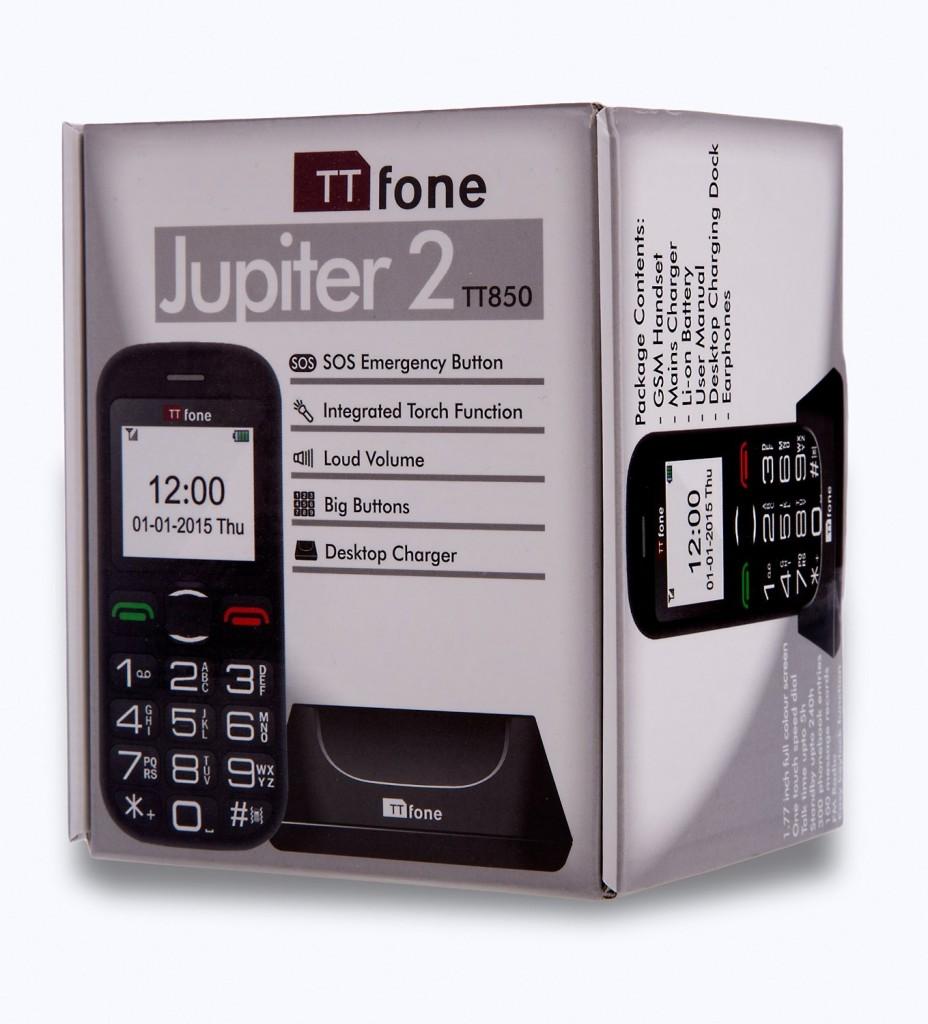 Teléfono TTfone Jupiter 2 TT850
