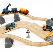 Circuito de carretera para trenes y camiones Brio 33210