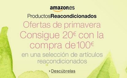 Oferta Productos Reacondicionados de Amazon
