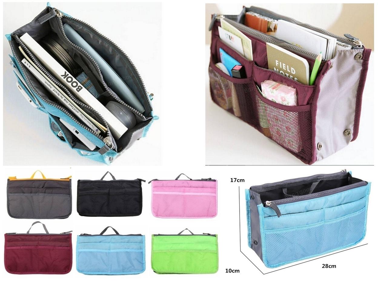 Organizador de bolso disponible en varios colores - Organizador de carteras ...