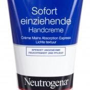 crema de manos Neutrogena de rápida absorción