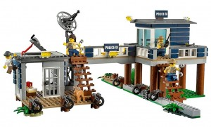 la policía del Pantano LEGO City 60069