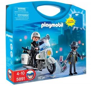 Maletín policía Playmobil 5891