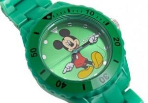 Reloj de pulsera Mickey Mouse
