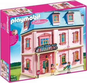 casa de muñecas romántica Playmobil 53030