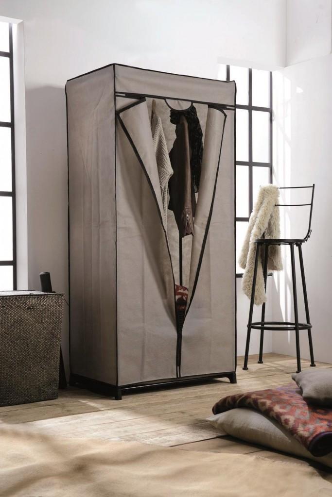 Compactor armario ropero de tela color beige - Armarios de tela ...
