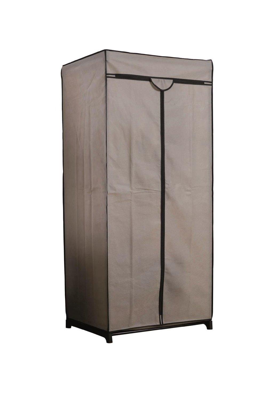 Compactor armario ropero de tela color beige - Armario ropero tela ...