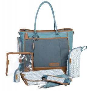 Bolso cambiador Babymoov Essential Bag color azul(petroleo)