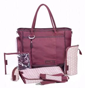 Bolso cambiador Babymoov Essential Bag color rojo