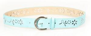 Cinturón en color azul