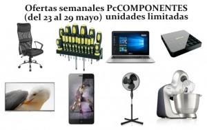 Ofertas semanales PcComponentes 23 mayo