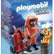 Figura Especialista en extinción de incendios Playmobil 5367
