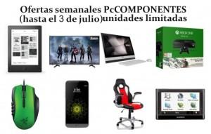 Ofertas semanales PcComponentes (hasta el 03 de julio)