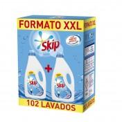 detergente líquido Skip Active Clean(para 102 lavados)