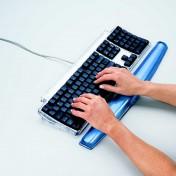 Reposamuñecas para el teclado Fellowes Gel