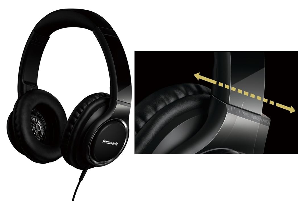 Auriculares Panasonic RP-HD5E-K
