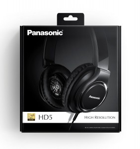 Auriculares modelo Panasonic RP-HD5E-K