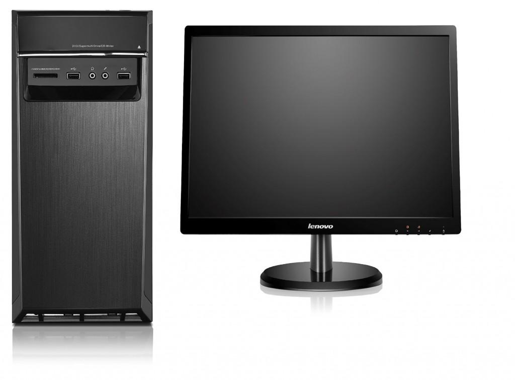 Ordenador de sobremesa Lenovo H50-50 CTO con monitor