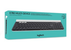 Teclado multidispositivo inalámbrico Logitech K780