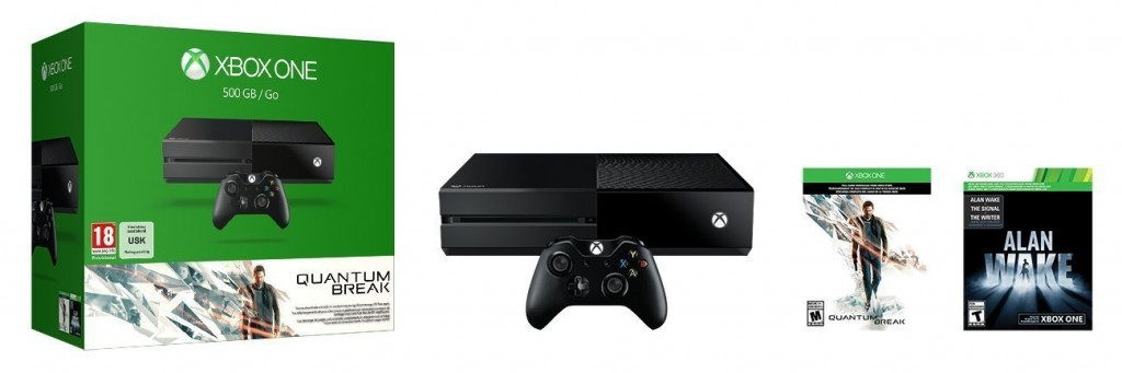 Xbox One 500 GB + Quantum Break